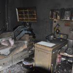 Rodzina straciła cały dobytek w pożarze (2)