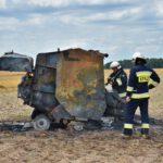 Pożar prasy do słomy w Olszewie (15) (1)