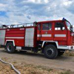 Pożar prasy do słomy w Olszewie (15) (15)