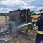Pożar prasy do słomy w Olszewie (15) (5)