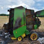 Pożar prasy do słomy w Olszewie (15) (6)