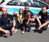 Uratowany pies adoptowany przez policjanta [ZDJĘCIA]