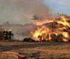 Pożar balotów słomy. W akcji nasi strażacy [ZDJĘCIA]