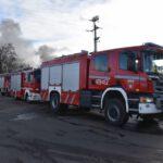 Pożar złomowiska w Przysiece Polskiej (10)