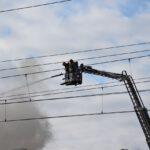 Pożar złomowiska w Przysiece Polskiej (12)