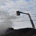 Pożar złomowiska w Przysiece Polskiej (14)