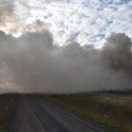 Pożar złomowiska w Przysiece Polskiej (15)