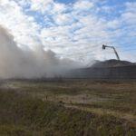 Pożar złomowiska w Przysiece Polskiej (18)