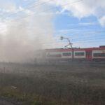 Pożar złomowiska w Przysiece Polskiej (23)