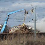 Pożar złomowiska w Przysiece Polskiej (26)