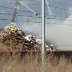Pożar złomowiska w Przysiece Polskiej (27)