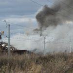 Pożar złomowiska w Przysiece Polskiej (29)