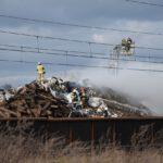 Pożar złomowiska w Przysiece Polskiej (34)