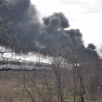Pożar złomowiska w Przysiece Polskiej (5)