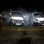 Spłonęły dwa samochody (4)