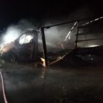 Spłonęły dwa samochody (7)