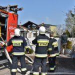 Pożar domu w Czempiniu (2)
