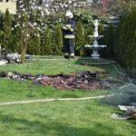 Pożar domu w Czempiniu (20)