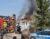Pożar domu mieszkalnego w Czempiniu [ZDJĘCIA]