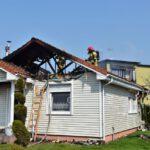 Pożar domu w Czempiniu (3)