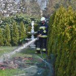 Pożar domu w Czempiniu (4)