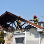 Pożar domu w Czempiniu (7)