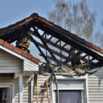 Pożar domu w Czempiniu (9)