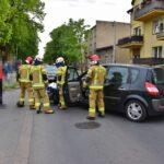 Zderzenie osobówki i motocykla na Nacławskiej (4)