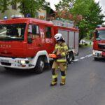 Zderzenie osobówki i motocykla na Nacławskiej (5)