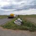 Zderzenie trzech pojazdów w Widziszewie