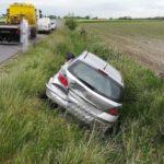 Zderzenie trzech pojazdów w Widziszewie (2)
