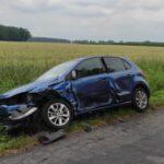 Wypadek na drodze Turew Rogaczewo (1)