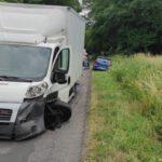 Wypadek na drodze Turew Rogaczewo
