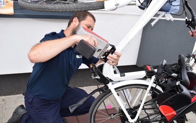 Znakowanie rowerów w sobotę!