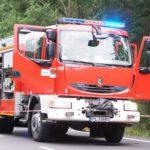 Tragiczny wypadek pomiędzy Lesznem i Osieczną (1)