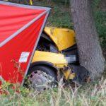 Tragiczny wypadek pomiędzy Lesznem i Osieczną (5)