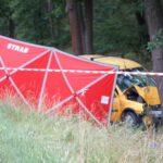 Tragiczny wypadek pomiędzy Lesznem i Osieczną (6)