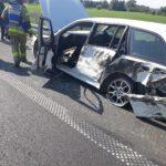 Kierowca nie zapanował nad zestawem (PSP) (5)
