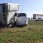 Kierowca nie zapanował nad zestawem (PSP) (7)