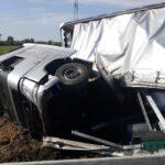 Kierowca nie zapanował nad zestawem (PSP) (9)