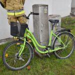 Kolizja roweru i osobówki (2)